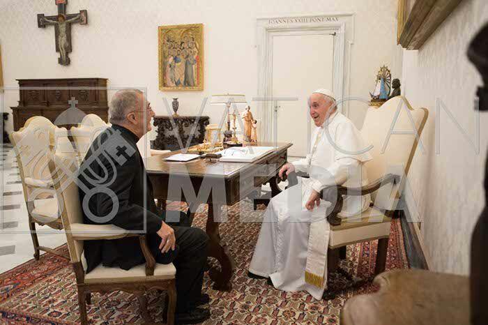 """Monseñor Martínez: """"Tenemos Papa para mucho tiempo"""""""