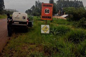 Yaguareté: La provincia instaló radares de control de velocidad en la zona del parque Urugua-í