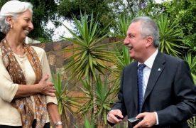 Lagarde se reunió con Passalacqua y elogió la belleza de las Cataratas del Iguazú