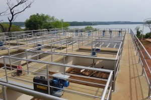 La EBY entregó al municipio de Candelaria unanueva planta potabilizadora de agua