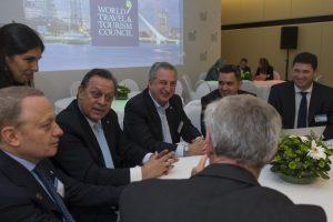Foro Mundial de Turismo: Passalacqua expuso ante inversores extranjeros