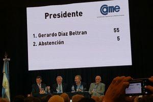 Histórico: El empresario Gerardo Díaz Beltrán será el nuevo presidente de la CAME, la cámara pyme más fuerte del país
