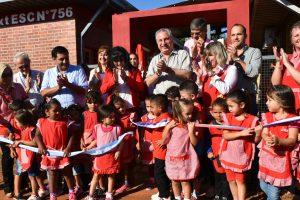 Passalacqua inauguró obras en dos establecimientos educativos de Puerto Esperanza