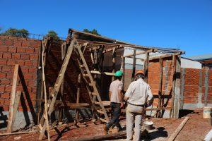 Repararán la Escuela de frontera 619 de Puerto Piray