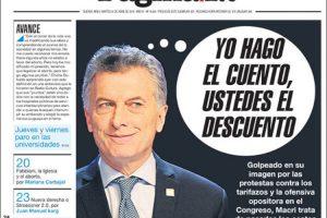 Las tapas de los diarios del martes 24/4: El pedido de Macri a los gobernadores