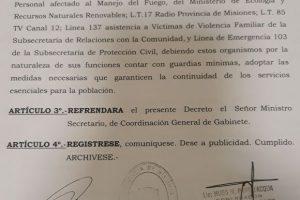 El Gobierno provincial decretó que el lunes 30 sea no laborable para la administración pública