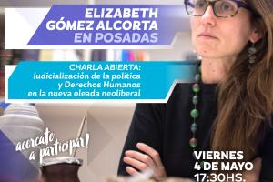 Charla Abierta con Elizabeth Gómez Alcorta en Posadas