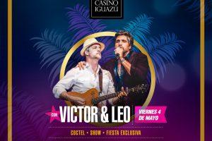 """El dúo «Víctor & Leo"""" se presentará por primera vez en Iguazú el 4 de mayo"""