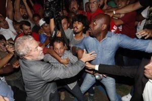 Lula se entregó a la policía