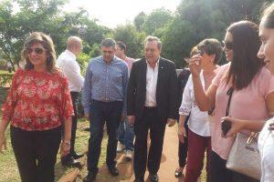 El Ministro Santos recorrió las misiones jesuitas en Itapúa junto al presidente de la OMT