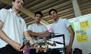 Jóvenes apostoleños llevaron su «dron de rescate» a Bariloche