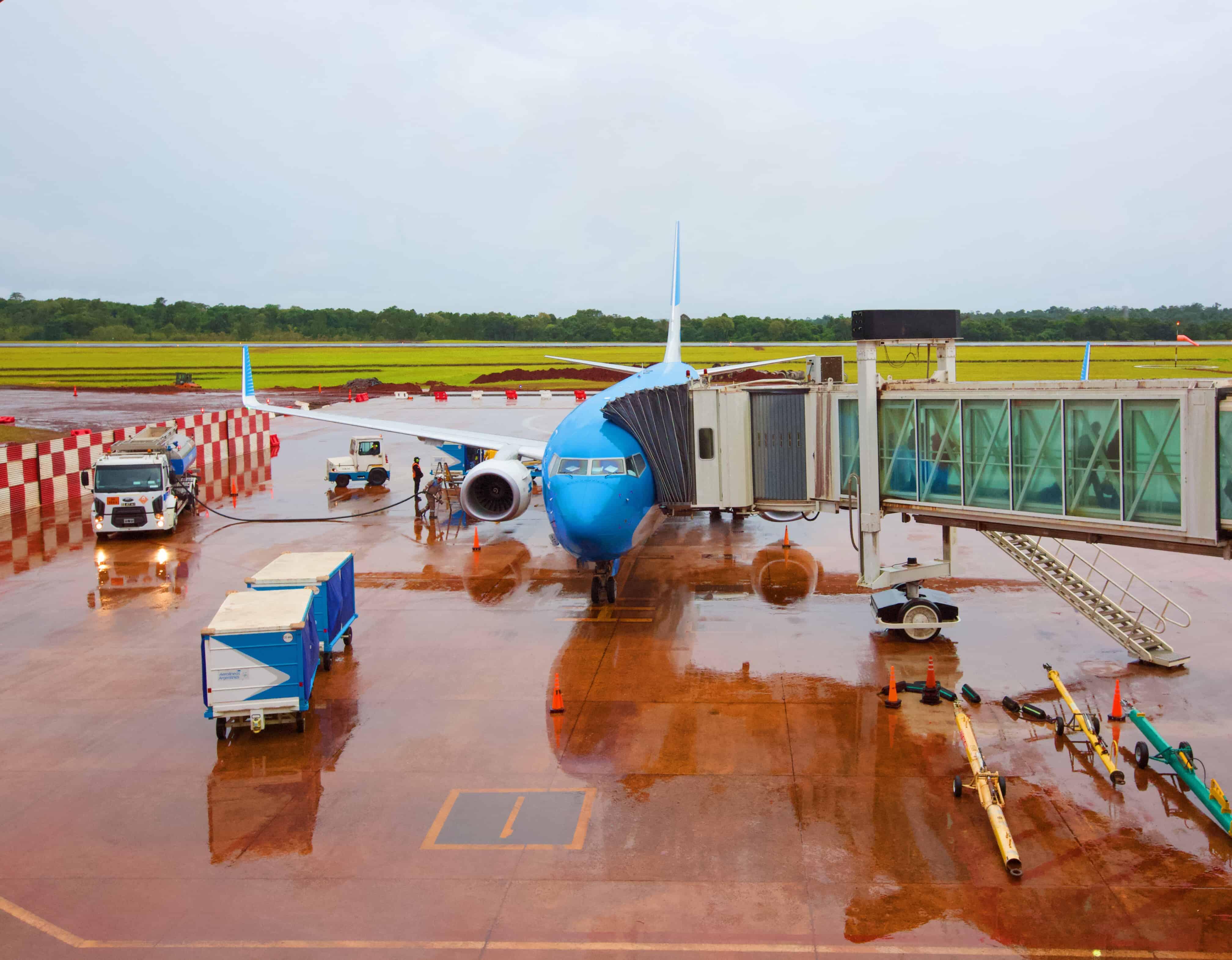 Ya está operativo el aeropuerto de Iguazú