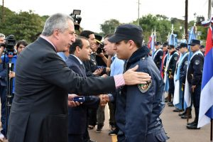 Passalacqua presidió el acto por el 162 aniversario de la creación de la Policía de Misiones