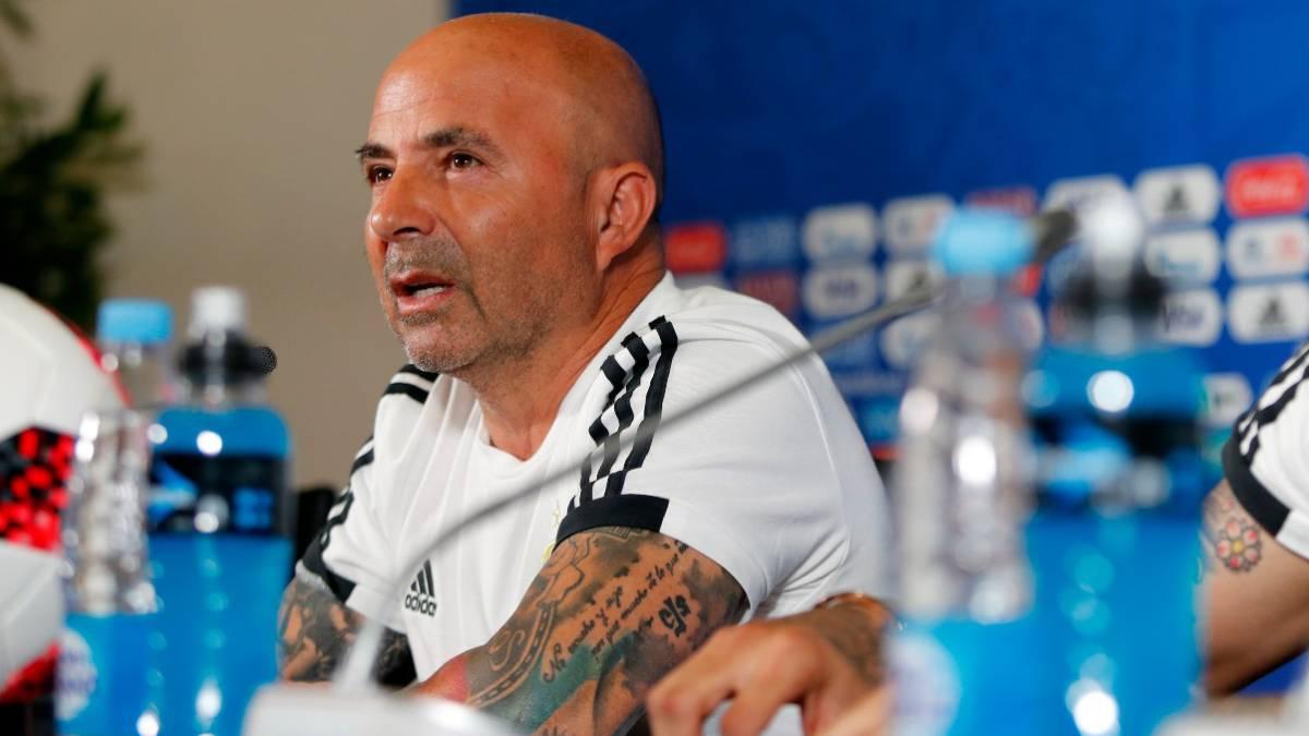 """Jorge Sampaoli: """"Decidida y con mucho corazón"""""""