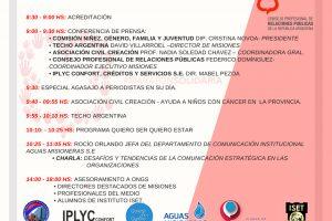 Mañana se realiza la Maratón de Relaciones Públicas y capacitarán en forma gratuita a ONGs