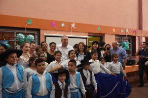Passalacqua destacó la constante inversión en educación «aún en momentos difíciles»