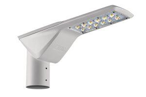 Más o menos así lucen las luminarias para alumbrado público. Aunque LUG Argentina producirá distintos modelos y no solo de lámparas para alumbrado.