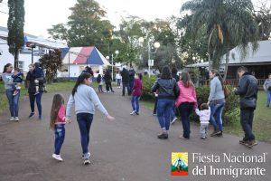 Eventos y mucha gastronomía en el parque de las naciones en Oberá