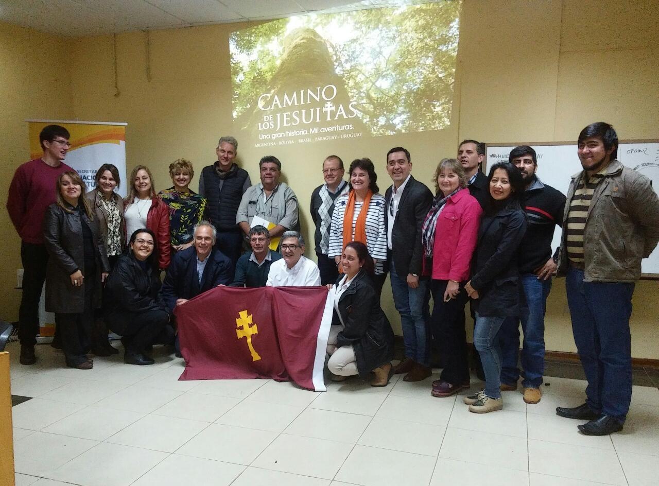 Trabajan en la marca del Camino Jesuítico del Mercosur