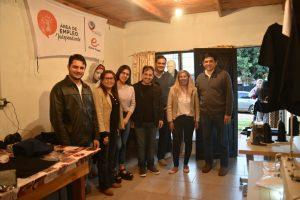 Inauguraron un emprendimiento textil en el barrio San Jorge
