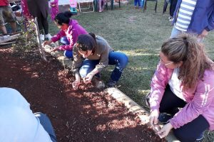 Se realizó el primer taller del programa huertas colectivas en el barrio Ingar