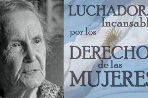 En el aniversario del Partido Socialista realizan homenaje a Alicia Moreau de Justo