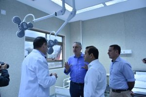 """""""Misiones es vanguardia en parto humanizado"""", afirmó Passalacqua al habilitar el hospital materno neonatal"""
