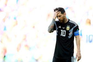 Mundial Rusia 2018: Argentina no pasó la prueba del debut y empató ante Islandia