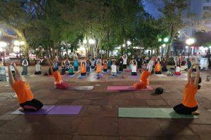 Se realizará la cuarta edición de la «Semana del Yoga» en Posadas