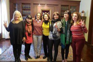 Parlamentaria misionera entre las Mujeres Federales que recorren el país
