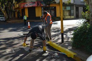 SEM Posadas: avanza la señalización de los espacios de estacionamiento