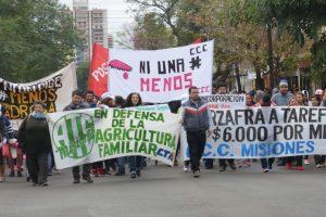 Protestas en toda la provincia contra las políticas agrarias y el ajuste