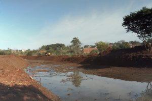 Vialidad lleva adelante el saneamiento del arroyo Mártires en Posadas
