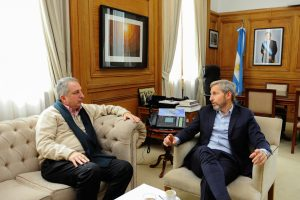 Frigerio se reunió con Passalacqua para analizar avances de obras en la provincia