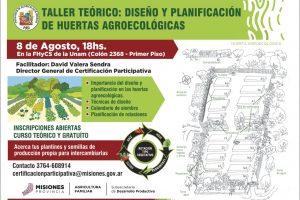 En agosto comienza un nuevo ciclo de talleres del programa de agroecología urbana