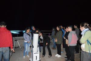 Se realizó un encuentro de astroturismo Inclusivo, en Santa Ana