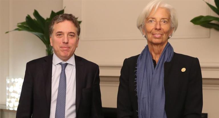 Lagarde se reunió con Macri y Dujovne en Olivos