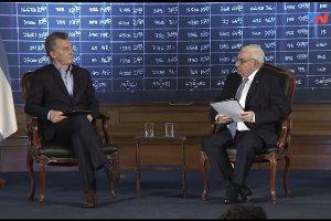 """Macri: """"El Fondo no es el cuco, no es esa cosa que nos quieren vender"""""""