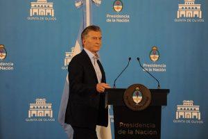 Macri realizará un anuncio a las 14.30 desde la Casa Rosada