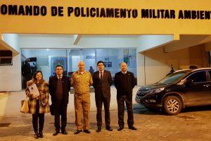 Se celebraron acuerdos en materia ambiental con Santa Catarina, Brasil