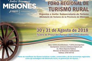 Preparan en Posadas el Foro Regional de Turismo Rural