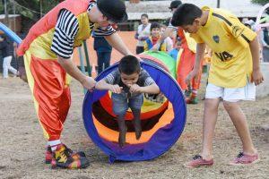 La EBY entregó un salón de usos múltiples enVilla Lanús para actividades sociales