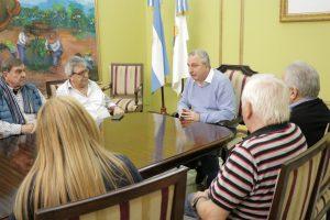 Passalacqua se reunió con miembros del Renatre para analizar la situación de los trabajadores rurales