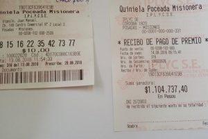Posadeña se llevó más de un millón de pesos con la Poceada