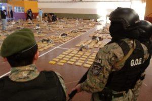 La Policía incautó alrededor de 1800 kilos de marihuana en Gobernador Roca