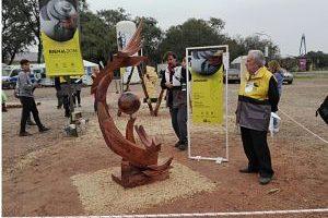Alumnos de la Facultad de Arte de la UNaM ganaron premio en la bienal internacional de Chaco