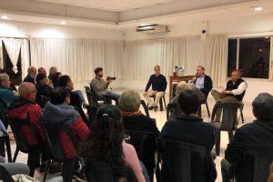 El senador Schiavoni dialogó con los vecinos de Apóstoles