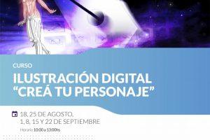 Taller de ilustración digital en la UCP Posadas