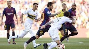 El Barça fue mucho para Boca