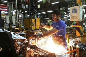 Fuerte caída en utilización de la capacidad instalada en la industria
